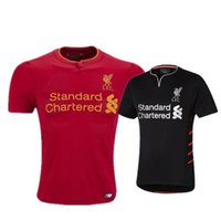 army t shirt wholesale - 3A LIVERPOOLED home SOCCER JERSEY Top thailand quality COUTINHO GERRARD T shirts soccer jersey football jersey