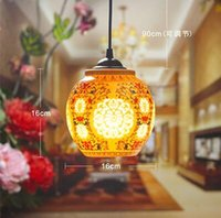 antique porcelain lamp - Antique Retro Ceramic Lamp Vintage Lamp Loft E27 V Porcelain Pendant Lamp Indoor Lighting Dining Lighting Fixtures