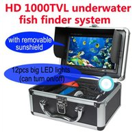 Wholesale HD TVL quot LCD M Underwater Fishing Camera Video Camera System Ice FishFinder for Fish Breeding Monitoring WF01 W2095A