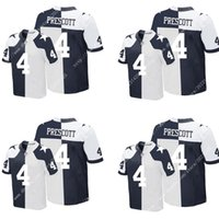 america uniforms - Thanksgiving Day Split NIK Elite Dallas Dak Prescott Cowboys Stitched Embroidery Logos America Football Men s Jerseys Uniforms Sweatshirts