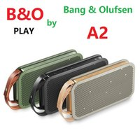 Wholesale High Performance Fashion B O PLAY by Bang And Olufsen A2 Wallet Style Stereo surround Wireless bluetooth speaker Music Sound Box Loudspeaker