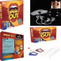 Wholesale Hottest Speak Out Game KTV party newest best selling toy Speak Out Game Best Selling Board Game Interesting Party Game for christmas