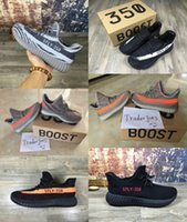 big leather boots - With Box Mens and Womens Running Shoes Boost V2 SPLY STEGRY BELUGA SOLRED Sneakers Size US5 Big Size Boosts Boots