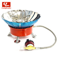 bbq cookout - New Brand Windproof Stove Cooker Cookware Gas Burner for Camping Picnic Cookout BBQ With Extended pipe