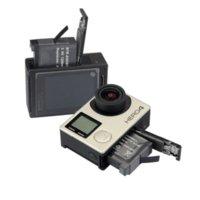 Wholesale NEW AHDBT AHDBT Battery for GoPro go pro GoPro4 HD Hero Hero4 Black Silve Edition batteries bateria celular