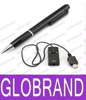 Wholesale K Mini Digital Voice Recorder Pen Real Writing Audio Dictaphone with GB support MP3 format Stereo sound GLO605