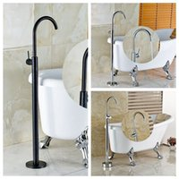 bathtub shower units - Comtenporary Bathtub Floor Standing Tap Chorme Bronze Finish Shower Set Single Lever Mixer Shower Units