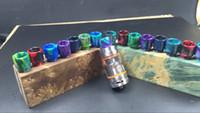 Wholesale Aleader new arrival v8 vaporizer drip tips stabilized drip tip resin drip tip for DIY RDA