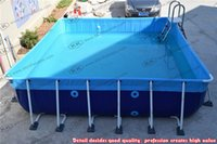 Wholesale distributors metal frame swimming pool large inflatable pool portable swimming pools
