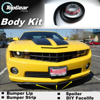 Wholesale For Chevrolet Camaro Bumper Lip Lips Front Skirt Deflector Spoiler For Car Tuning The Stig Recommend Body Kit Strip