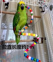 Wholesale Bit string seesaw swing grinding claws board Standing frame etc parrot bird toys