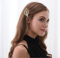 Wholesale Popular Foreign Trade Halloween Party Jewelry Korean Hair Headdress Fashion Special Hollow Leaves Hairpin Jewelry Sets