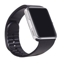 digital pedometer - GT08 smart watch phone wearable device digital watch with camera pedometer sleep monitor support SIM card TF card GPRS for Android