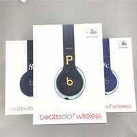beat p - Used Beats MLB solo2 Wireless Headphones Special Edition KC NY P Colors solo Bluetooth Headset brand new retail box Refurbished