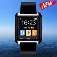 Bluetooth montre Smart Watch U80 U Montre Reloj Inteligente pour iPhone Android Phone Good as Smartwatch U8 DZ09 GT08