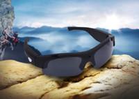 Wholesale Sunglasses Cameras SM C Multi function P HD Sunglasses Camera Video Audio Recorder Eyewear Camcorder Mini Cameras Supports y