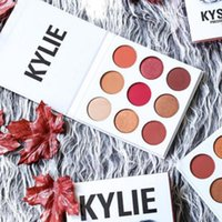 Wholesale Pre sale THE BURGUNDY PALETTE KYSHADOW Kylie Jenner Newest Kyshadow Eyeshadow Of Your Dreams Makeup Eye Shadow