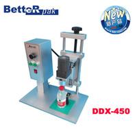 Wholesale DDX electric desktop capping machine Water bottle round capping machine bottle lid locking machine