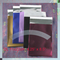 Wholesale 110 x mm DL Colored foil shipping envelope packaging bag Mailing Bags Cheap Mailing Bags
