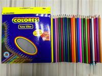 Wholesale Secret Garden Painting Pens Colors Colors Colors Drawing Pencil Coloring Books Painting Pens Xmas Gift for Boys Girls