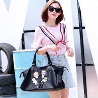 Wholesale The new spring summer fashionable oxford with genuine leather Shoulder Bags Handbag Tote bag Women Messenger Bag