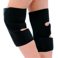 Wholesale 1Pair Tourmaline Self Heating Kneepad Arthritis Magnetic Therapy Knee Pads Hot Health Care Braces Supports Belt
