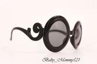 baroque white frames - Kids Baroque Sunglasses New Fashion Classic Children Beach Sunblock Accessories Blinkers Boys and Gils Children Sun Glasses