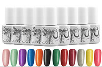 Wholesale Gelish harmony Nail Polish colors LED UV Gel nail polish Nail art lacquer Soak off nail gel French nail colors