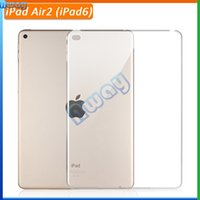 Wholesale Transparent clear protective For iPad Air ipad pro Soft Silicon TPU tablet PC back Cover Case Skin