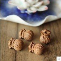 Wholesale Feicheng mahogany small bags Purse Bag Pendant DIY absorption property storage transport Wangcai