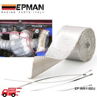 Wholesale EPMAN Heat Shields Heat intake Reflective insulation wrap tape induction with Reinforced Tape Adhesive Backed EP WR11BDJ FS