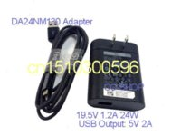 Wholesale 19 V A W Power Supply AC Adapter Tablet Charger for DA24NM130 Venue Pro Tablet and Micro USB cable V