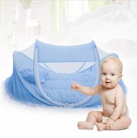 babies travel mosquito net - Folding Baby Crib Years Baby Bedding Mosquito Net Portable Foldable Baby Bed Crib Mosquito Netting Cotton Sleep Travel Bed