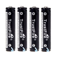 Wholesale High Quality SET AAA mAh V TrustFire Rechargeable Lithium Battery with PCB Protected Board Batteries