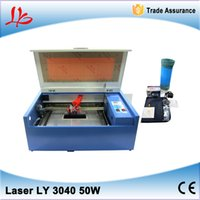 Wholesale To Russia No Tax Latest laser cutter LY CO2 Laser Engraving Machine W tube