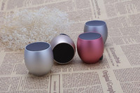 audio eggs - High Quality Portable Wireless Bluetooth Speaker Egg Design Mini Subwoofer Sound Box Support TF Card Hands free Call Metal Shell