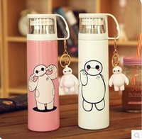 Wholesale Baymax vacuum cup cartoon bottle space warm keeping cup color you can choose