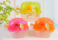 Wholesale Small Size Hamster Cages Small Animal Pet Rats House Habitats Hutches Storage Box Cage For Hamsters Pets Supplies Size Min Order