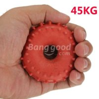 Wholesale traderoom New KG Rubber Ring Grip Hand Gripper Device Strength Red ring swivel ring discount