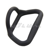 Towing Ring Plastic Approx 11.5cm / 4.5 inch 2pcs Black Grey Plastic Towing Ring for Kayak Fishing Boats Inflatable Dinghy Canoe
