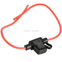 Wholesale 1pc Waterproof Medium Standard Blade Fuse Holder Fuseholder Car Automotive M00032 SPDH
