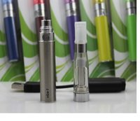Wholesale Top Quality eGo Blister kit electronic cigarette starter kits with CE4 atomizer and mAh ego t battery Various colors
