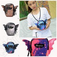 bat mobile - 4 color LJJK118 Handbag Phone Package bat bag Shoulder Messenger Bag Mens Womens Security Mobile Case Bag