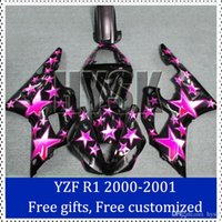 aftermarket decals - Motorcycle fairing kits set for Yamaha YZF R1 Aftermarket motorcycle body Cover All star decal brand new with free gifts