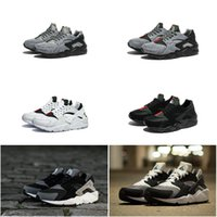 Wholesale 2016 Hot Sale Drop Shipping Trainers Air Huarache Run Mens Womens Athletic Sneakers Running Shoes Size