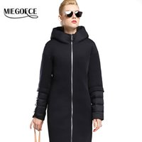 Wholesale MIEGOFCE New Winter Women Down Coat Jacket Warm High Quality Woman Down Parka with Hood Winter Coat with Stand up Collar
