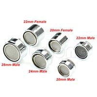 Wholesale Water Saving Kitchen Faucet Tap Aerator Chrome Male Female Nozzle Sprayer Filter