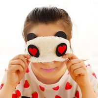 Wholesale 1PC Panda Face Eye Travel Sleep Lightproof Mask Blindfold Portable Nap Cover