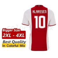 xxxxl size jersey - Bigger Size XL XL XL Ajax Jersey SINKGAAVEN TAAOAE KLAASSEN YOUNES Ajax Soccer jersey XXL XXXL XXXXL Size football uniforms