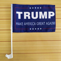 Wholesale Donald Trump Make America Great Again Car Flag Donald for President x Inch